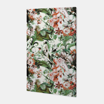 Thumbnail image of Exotic flowery abstract bouquet Canvas, Live Heroes