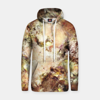 Thumbnail image of Abraded surface Cotton hoodie, Live Heroes