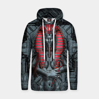 Thumbnail image of Sacred Dark Queen Cotton hoodie, Live Heroes