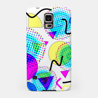 Thumbnail image of Memphis Retro 80's Pop-art Pattern Samsung Case, Live Heroes