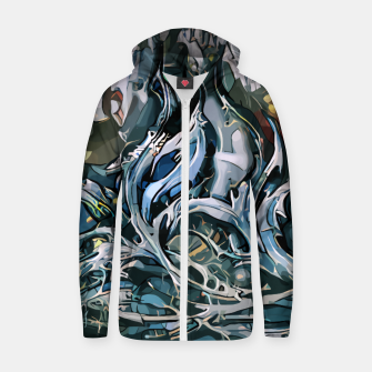 Thumbnail image of Z-Rok Cotton zip up hoodie, Live Heroes