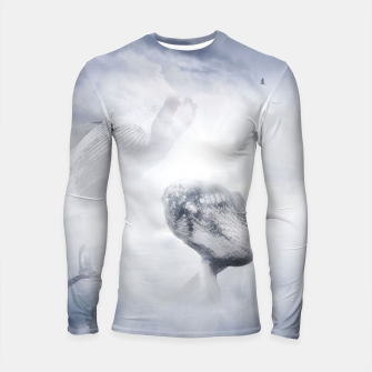 Thumbnail image of Whales in the Clouds Longsleeve rashguard, Live Heroes