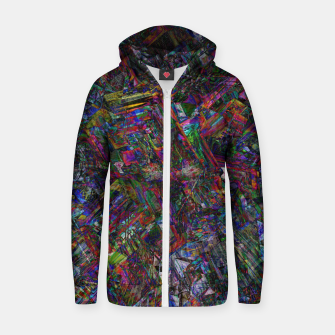 Thumbnail image of Visions Cotton zip up hoodie, Live Heroes