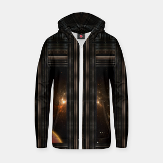 Doorway To Eternity Cotton zip up hoodie thumbnail image
