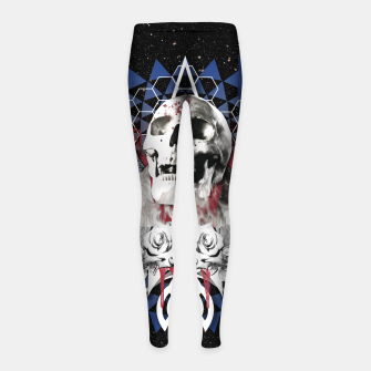 Thumbnail image of DEPARTED Leggings para niña, Live Heroes