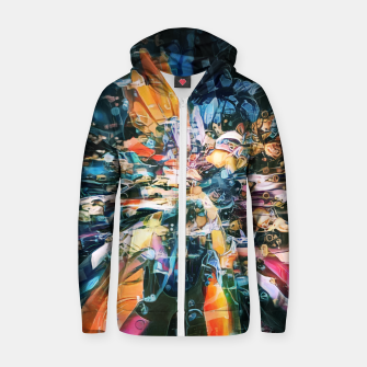 Thumbnail image of Shalliac Cotton zip up hoodie, Live Heroes