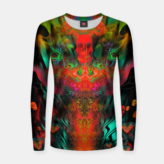 Miniatur Atomic Psychedelia Woman cotton sweater, Live Heroes