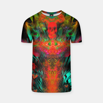 Miniatur Atomic Psychedelia T-shirt, Live Heroes
