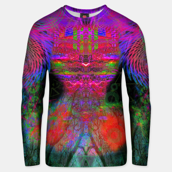 Thumbnail image of The Swirling Spirit of Creativity Cotton sweater, Live Heroes
