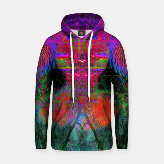 Thumbnail image of The Swirling Spirit of Creativity Cotton hoodie, Live Heroes
