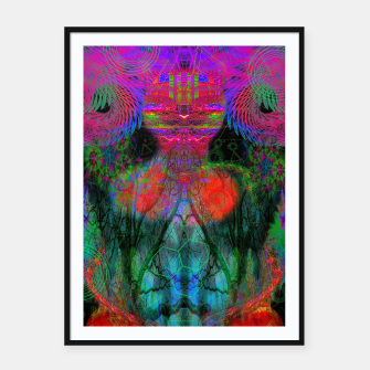 Thumbnail image of The Swirling Spirit of Creativity Framed poster, Live Heroes