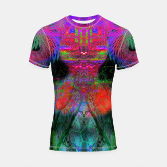 Thumbnail image of The Swirling Spirit of Creativity Shortsleeve rashguard, Live Heroes