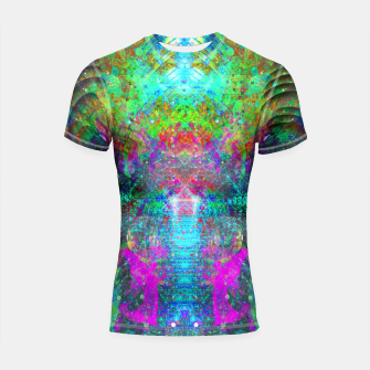 Thumbnail image of Stairway To Heaven Shortsleeve rashguard, Live Heroes