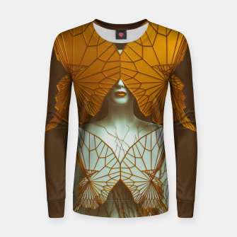 Thumbnail image of Transformation II Woman cotton sweater, Live Heroes
