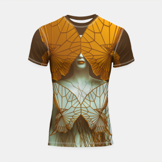 Thumbnail image of Transformation II Shortsleeve rashguard, Live Heroes