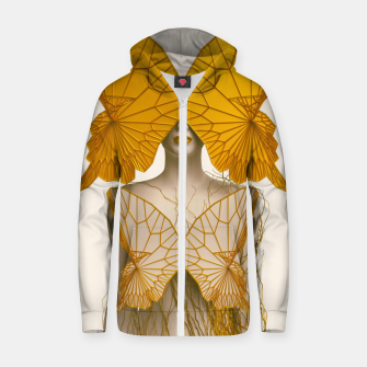 Thumbnail image of Transformation I Cotton zip up hoodie, Live Heroes