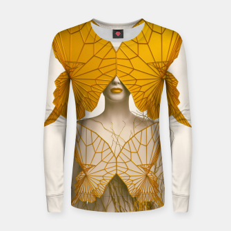 Thumbnail image of Transformation I Woman cotton sweater, Live Heroes