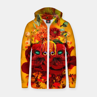Thumbnail image of Eagle Cotton zip up hoodie, Live Heroes