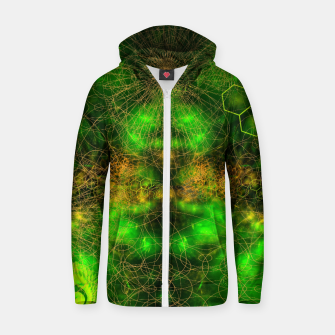 Citrus Enlightenment Cotton zip up hoodie Bild der Miniatur