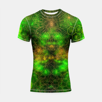 Miniatur Citrus Enlightenment Shortsleeve rashguard, Live Heroes
