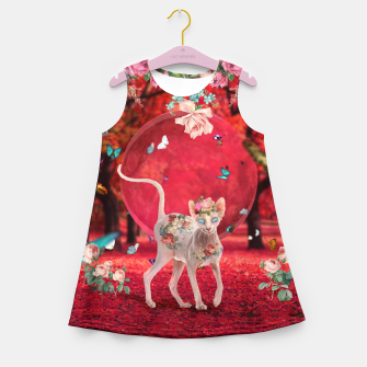 Thumbnail image of Moonlight Sphynx Girl's summer dress, Live Heroes
