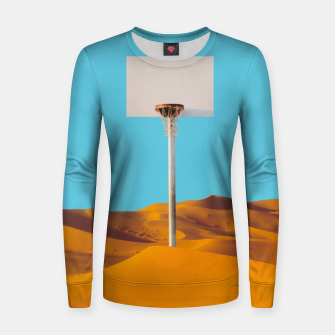 Thumbnail image of Desert Basketball Woman cotton sweater, Live Heroes