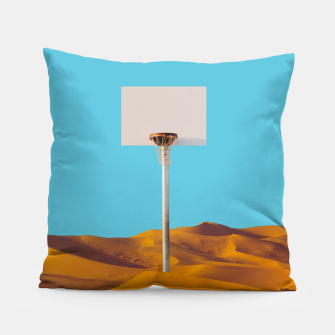 Miniatur Desert Basketball Pillow, Live Heroes