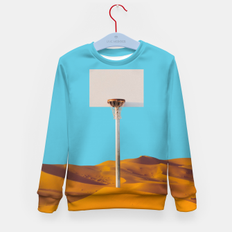 Thumbnail image of Desert Basketball Kid's sweater, Live Heroes