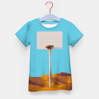 Thumbnail image of Desert Basketball Kid's t-shirt, Live Heroes
