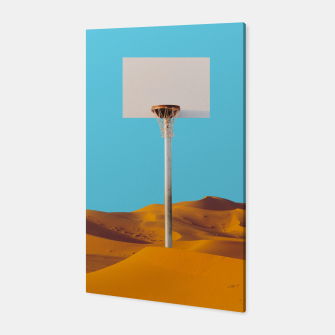 Thumbnail image of Desert Basketball Canvas, Live Heroes