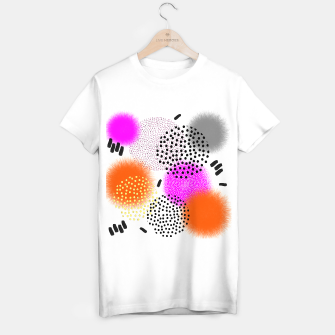 Thumbnail image of Bold Bright Geometric Abstract Fusion T-shirt regular, Live Heroes