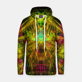Thumbnail image of Alien Mind Flourish  Cotton hoodie, Live Heroes