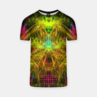 Thumbnail image of Alien Mind Flourish  T-shirt, Live Heroes