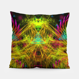 Thumbnail image of Alien Mind Flourish  Pillow, Live Heroes