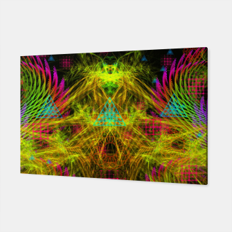 Thumbnail image of Alien Mind Flourish  Canvas, Live Heroes
