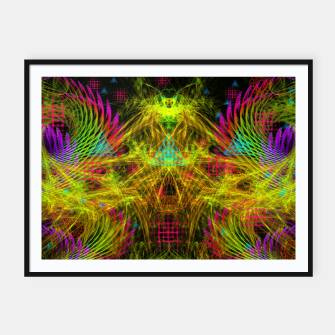 Thumbnail image of Alien Mind Flourish  Framed poster, Live Heroes