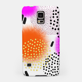 Bold Bright Geometric Abstract Fusion Samsung Case thumbnail image