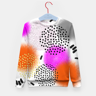 Bold Bright Geometric Abstract Fusion Kid's sweater thumbnail image