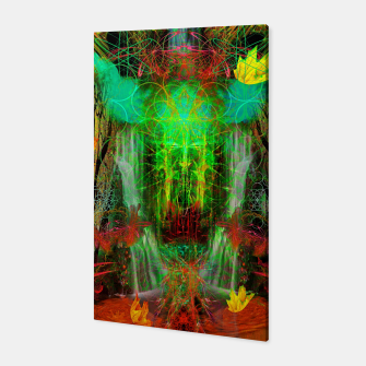 Miniature de image de The Cooling Spirit of Autumn (visionary, forest, leaves) Canvas, Live Heroes