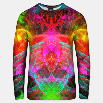 Thumbnail image of A Martian Queen Awakens From Hibernation (fluorescent) Cotton sweater, Live Heroes