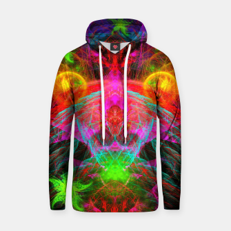 Thumbnail image of A Martian Queen Awakens From Hibernation (fluorescent) Cotton hoodie, Live Heroes