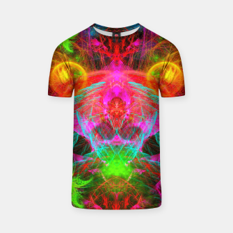 Thumbnail image of A Martian Queen Awakens From Hibernation (fluorescent) T-shirt, Live Heroes