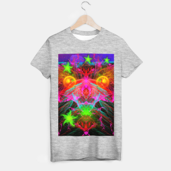 Thumbnail image of A Martian Queen Awakens From Hibernation (fluorescent) T-shirt regular, Live Heroes