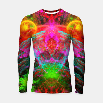 Thumbnail image of A Martian Queen Awakens From Hibernation (fluorescent) Longsleeve rashguard , Live Heroes