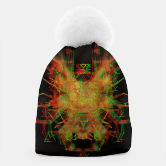 Thumbnail image of 3D Mechanical Antelope Beanie, Live Heroes