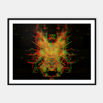Thumbnail image of 3D Mechanical Antelope Framed poster, Live Heroes
