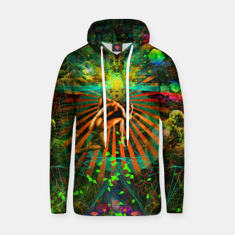 Thumbnail image of Forest Mind Expansion Cotton hoodie, Live Heroes