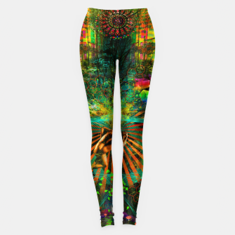 Thumbnail image of Forest Mind Expansion (visionary) Leggings, Live Heroes