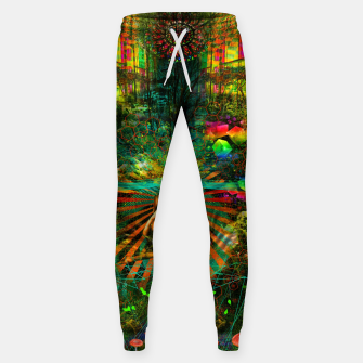 Thumbnail image of Forest Mind Expansion (visionary) Cotton sweatpants, Live Heroes