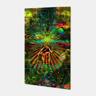 Thumbnail image of Forest Mind Expansion (visionary) Canvas, Live Heroes